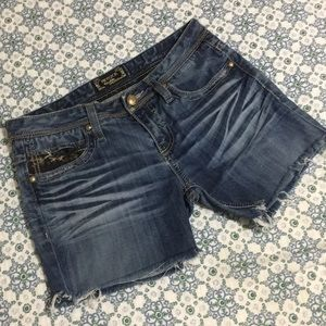 Rerock Cut off Jean shorts